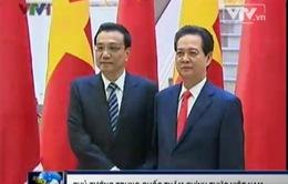 Thủ tướng Nguyễn Tấn Dũng hội đàm với Thủ tướng Trung Quốc Lý Khắc Cường
