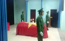 Một chiến sĩ biên phòng hi sinh khi làm nhiệm vụ