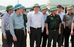 Bộ trưởng Cao Đức Phát chỉ đạo khắc phục hậu quả bão số 11
