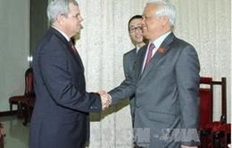 Việt Nam - Cuba trao đổi kinh nghiệm sửa đổi Hiến pháp