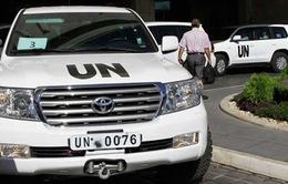 Thanh sát viên quốc tế chứng kiến tiêu hủy vũ khí hóa học ở Syria