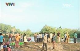 Chìm thuyền trên sông Măng, 7 người chết và mất tích