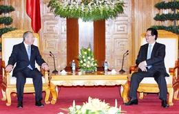 Thủ tướng tiếp Bộ trưởng Ngoại giao và Tôn giáo Costa Rica