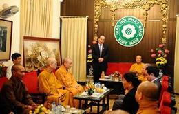 Đánh giá cao đóng góp của Giáo hội Phật giáo Việt Nam