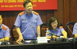 Ngày 6/11, xét xử tái thẩm vụ án Nguyễn Thanh Chấn
