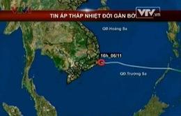 Áp thấp nhiệt đới đã gây mưa ở Trung và Nam Trung Bộ