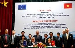Việt Nam - EU ký kết Ý định thư về hợp tác du lịch bền vững