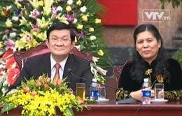 Chủ tịch nước tiếp đoàn phụ nữ Việt Nam ở nước ngoài