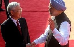 Thủ tướng Ấn Độ đón chính thức Tổng Bí thư Nguyễn Phú Trọng