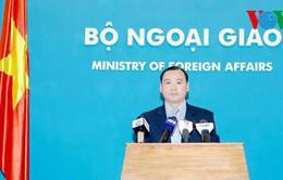 Việt Nam lo ngại trước những căng thẳng ở Biển Hoa Đông