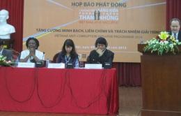 Phát động Sáng kiến Phòng chống tham nhũng Việt Nam 2014