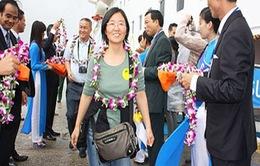 Du khách tới Đà Nẵng tăng mạnh dịp cuối năm