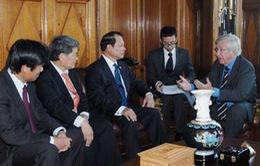 Việt Nam - Uruguay tăng cường hợp tác nhiều lĩnh vực