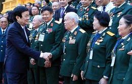 Chủ tịch nước gặp thân mật cựu chiến binh đặc công Đoàn 305