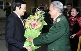Chủ tịch nước thăm Hội Hỗ trợ gia đình liệt sĩ Việt Nam