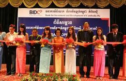 Ngân hàng Việt Nam mở rộng hoạt động tại Campuchia