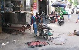 """TP.HCM: Nổ bình hàn tại hẻm Phương """"khói lửa"""""""