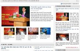 Khai trương Trang thông tin điện tử Ban Kinh tế Trung ương