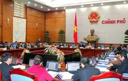Chính phủ họp phiên chuyên đề công tác xây dựng pháp luật