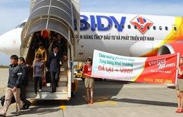 VietJetAir khai trương đường bay Vinh - Đà Lạt