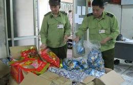 Hà Nội: Bắt giữ trên 60 tấn hàng nhập lậu