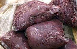 Quảng Trị: Bắt xe chở 300kg nội tạng thối