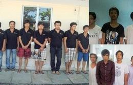 Bắt nhóm tội phạm gây ra 24 vụ cướp tại TP.HCM