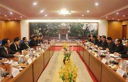 Việt - Lào chia sẻ kinh nghiệm quản lý kinh tế