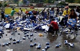 """Vụ """"cướp"""" bia tại Đồng Nai: Bắt tạm giam hai đối tượng"""