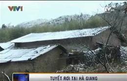 Mưa tuyết trên diện rộng tại Hà Giang