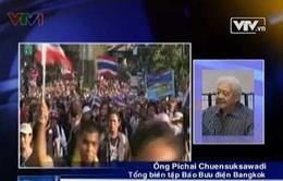 Tổng biên tập Bangkok Post: Tình hình Thái Lan đang bế tắc