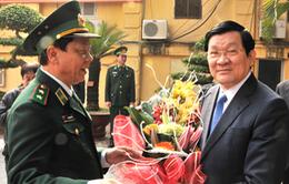 Chủ tịch nước chúc Tết Bộ Tư lệnh Biên phòng
