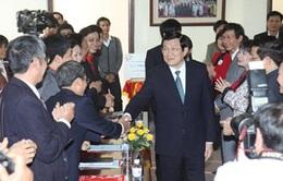 Chủ tịch nước làm việc với Hội Chữ thập đỏ Việt Nam