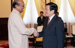 Chủ tịch nước tiếp Đặc phái viên Tổng thống Sri Lanka