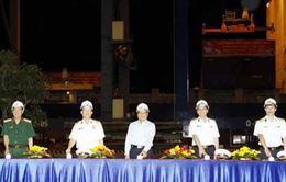 Tân cảng Sài Gòn đón chuyến hàng đầu năm