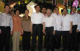 Thủ tướng thăm đường hoa Nguyễn Huệ