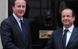Anh - Pháp họp thượng đỉnh về hợp tác quốc phòng