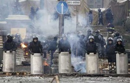 Phe đối lập Ukraine kêu gọi phương Tây trợ giúp