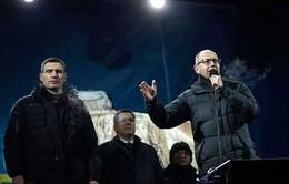 Thủ lĩnh phong trào đối lập Ukraine tới Đức