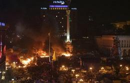 Ít nhất 18 người thiệt mạng trong vụ bạo lực tại Ukraine