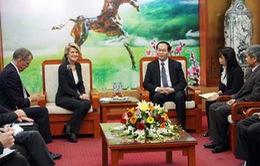 Bộ trưởng Ngoại giao Australia làm việc với lãnh đạo các Bộ
