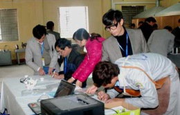 113 thí sinh tham dự Hội thi tay nghề cấp Bộ