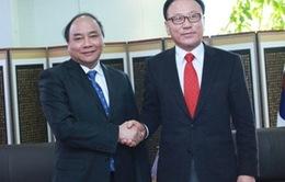 Phó Thủ tướng Nguyễn Xuân Phúc tiếp Tổng Lãnh sự Danh dự Việt Nam tại Hàn Quốc