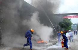 Diễn tập thực binh ứng phó sự cố hóa chất tại Đồng Nai