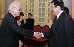 Chủ tịch nước tiếp Thượng nghị sĩ Nhật Bản