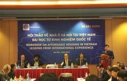 WB đánh giá cao Chương trình nhà ở xã hội của Việt Nam