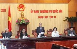 UBTVQH cho ý kiến về Dự thảo Luật Căn cước