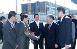 Chủ tịch Quốc hội Nguyễn Sinh Hùng gặp Chủ tịch IPU