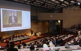 Chủ tịch Quốc hội phát biểu tại phiên họp toàn thể IPU 130
