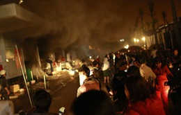 Dập tắt đám cháy lớn tại chợ Phố Hiến, Hưng Yên